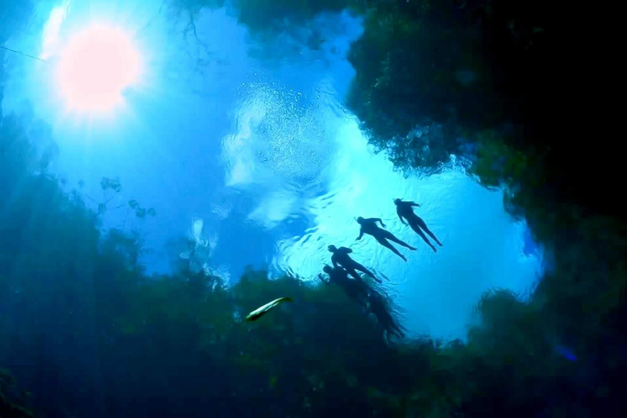 Em Jardim, a Lagoa Misterioso é lugar perfeito para fazer flutuação (Foto: Divulgação)