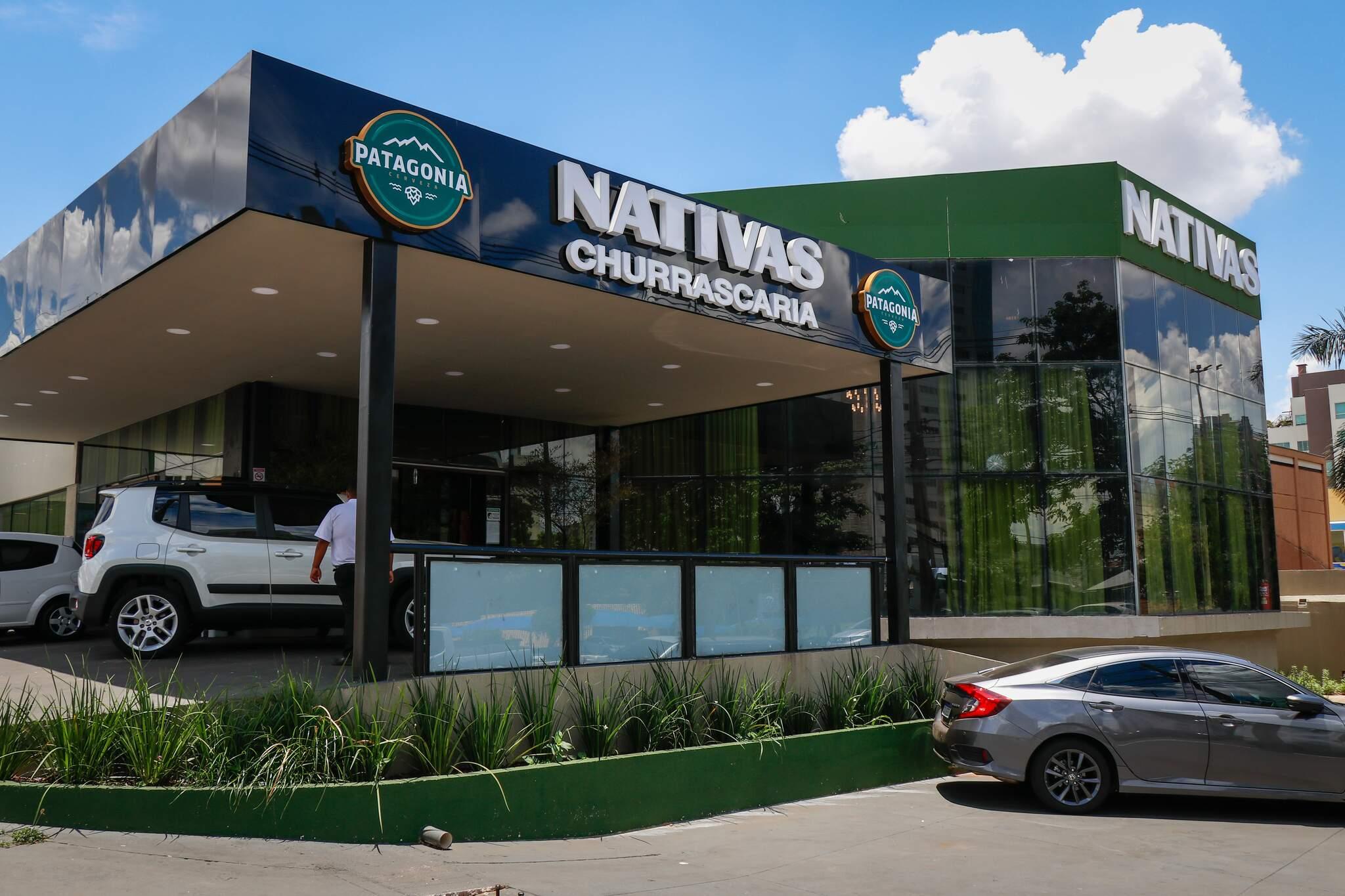 A Nativas Grill Premium fica localizada na Avenida Afonso Pena, 5468, Bairro Chácara Cachoeira. (Foto: Henrique Kawaminami)