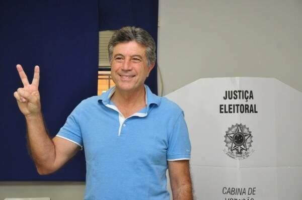 Vice-governador, Murilo Zauith (DEM), responde bem ao tratamento médico e consegue combater infecção (Foto Dourados News)