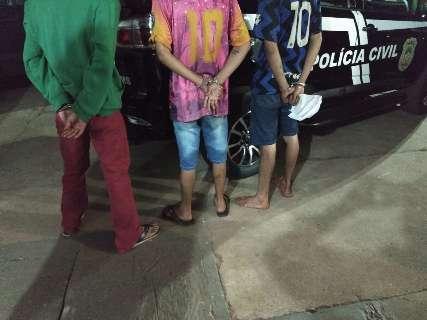 Assaltante e receptadores são presos por onda de furtos em Paranaíba