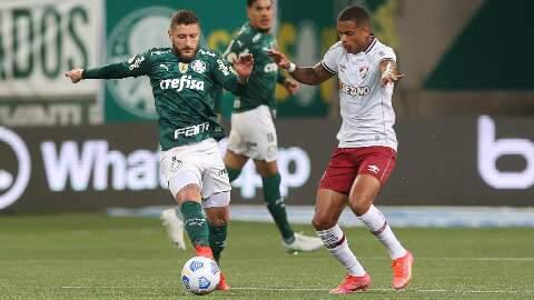 Em sua nona vitória seguida, Palmeiras faz 1 a 0 sobre o Fluminense