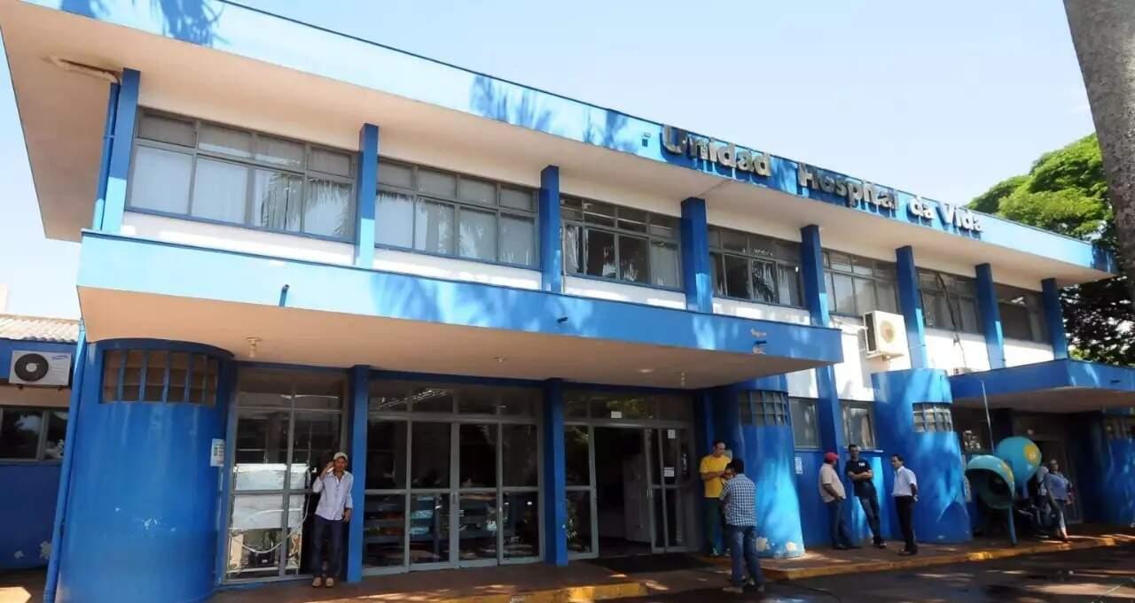 Hospital da Vida é a principal unidade hospitalar de Dourados (Foto: Divulgação/Arquivo)
