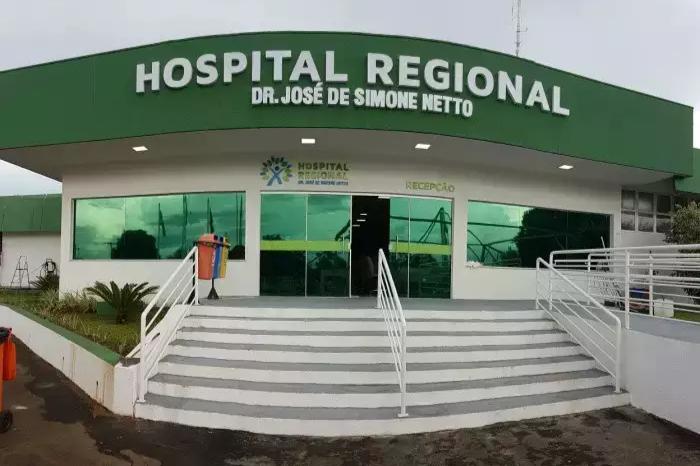 Vítima está internada no Hospital Regional de Ponta Porã (Foto: Arquivo)