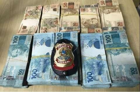 PF apreende R$ 212 mil e investiga envio ilegal de dinheiro para fora do País