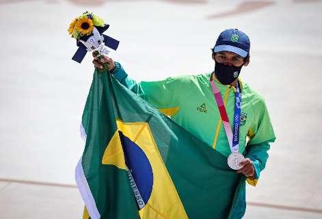 No skate, Kelvin Hoefler conquista primeira medalha brasileira em Tóquio