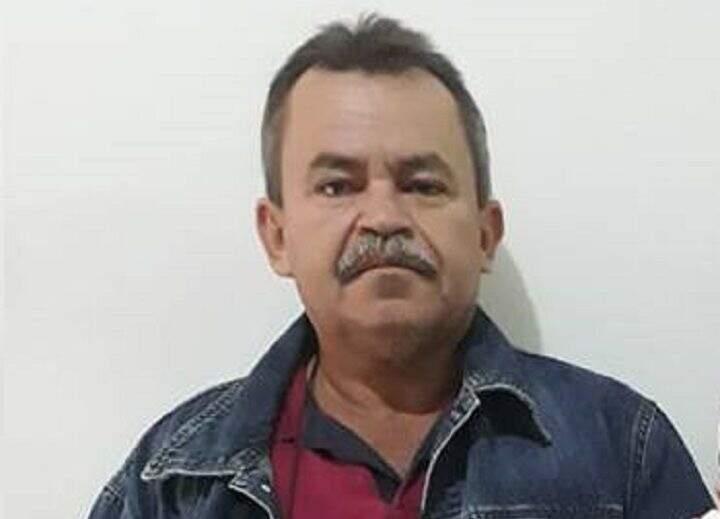 Policial aposentado, Jonas Rufino da Silva, 54 anos. (Foto: Reprodução Jornal da Nova)