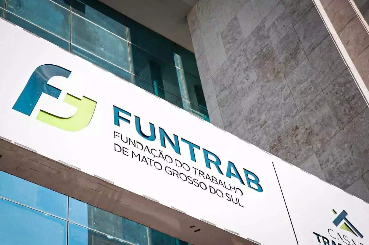 Funtrab, na Rua 13 de Maio, em Campo Grande (Foto: Henrique Kawaminami/Arquivo)