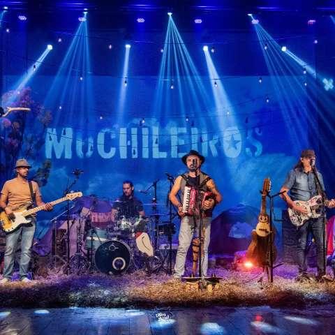 Muchileiros trazem show on-line com ritmos do Brasil e Paraguai