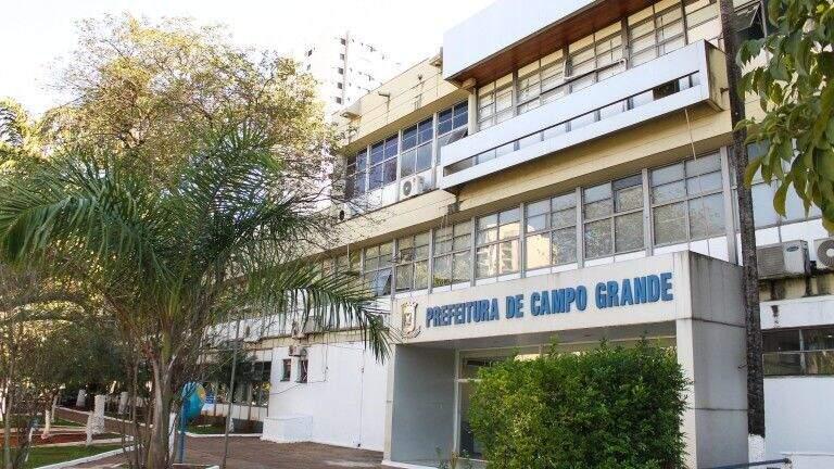 Sede da Prefeitura Municipal de Campo Grande. (Foto: Divulgação/PMCG)