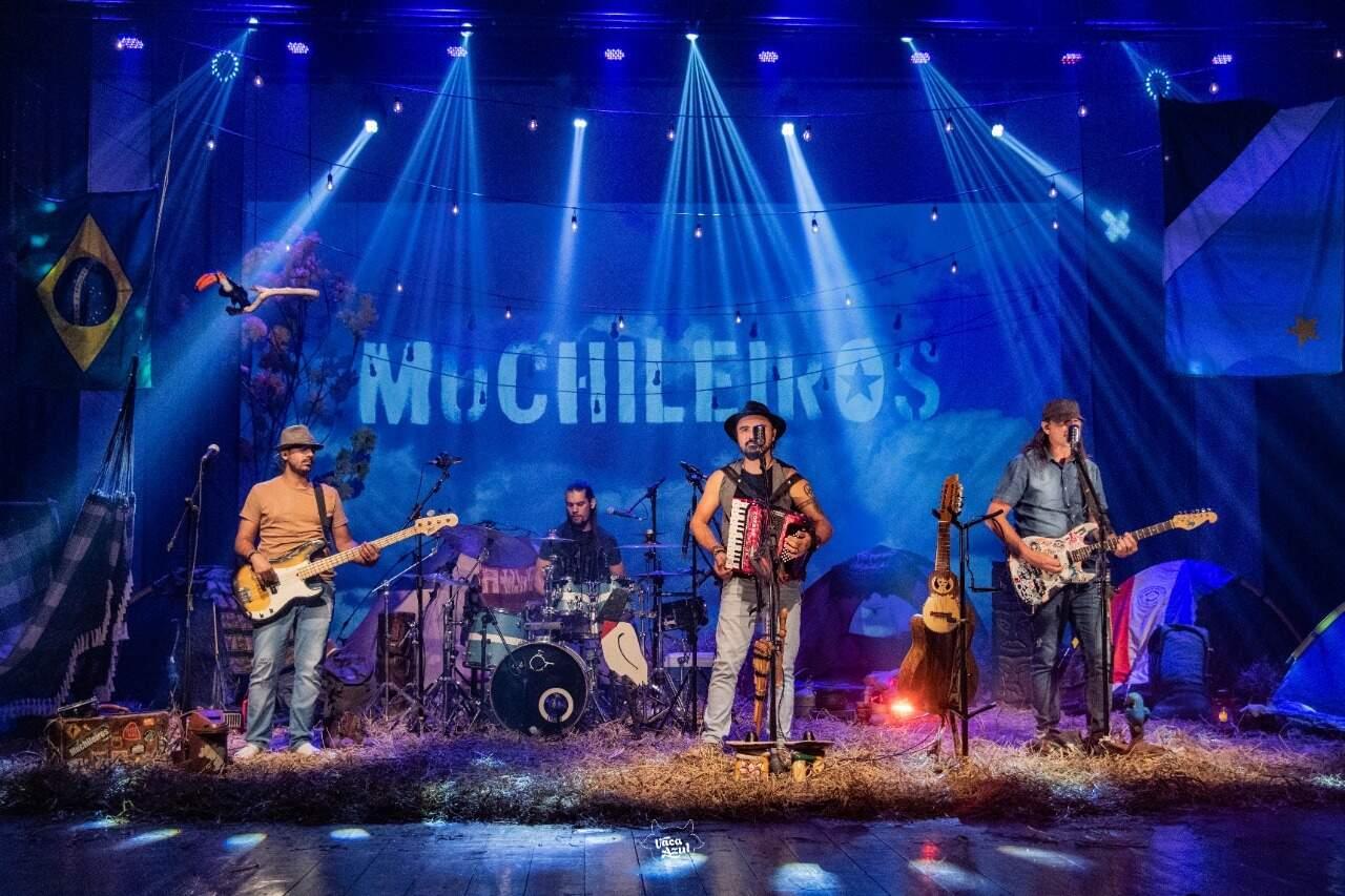 Banda Muchileiros traz show com ritmos de Brasil e Paraguai. (Foto: Divulgação)