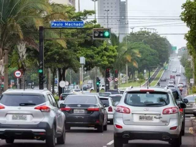 Condutor tem até sexta-feira para efetuar pagamento. (Foto: Arquivo/Campo Grande News)