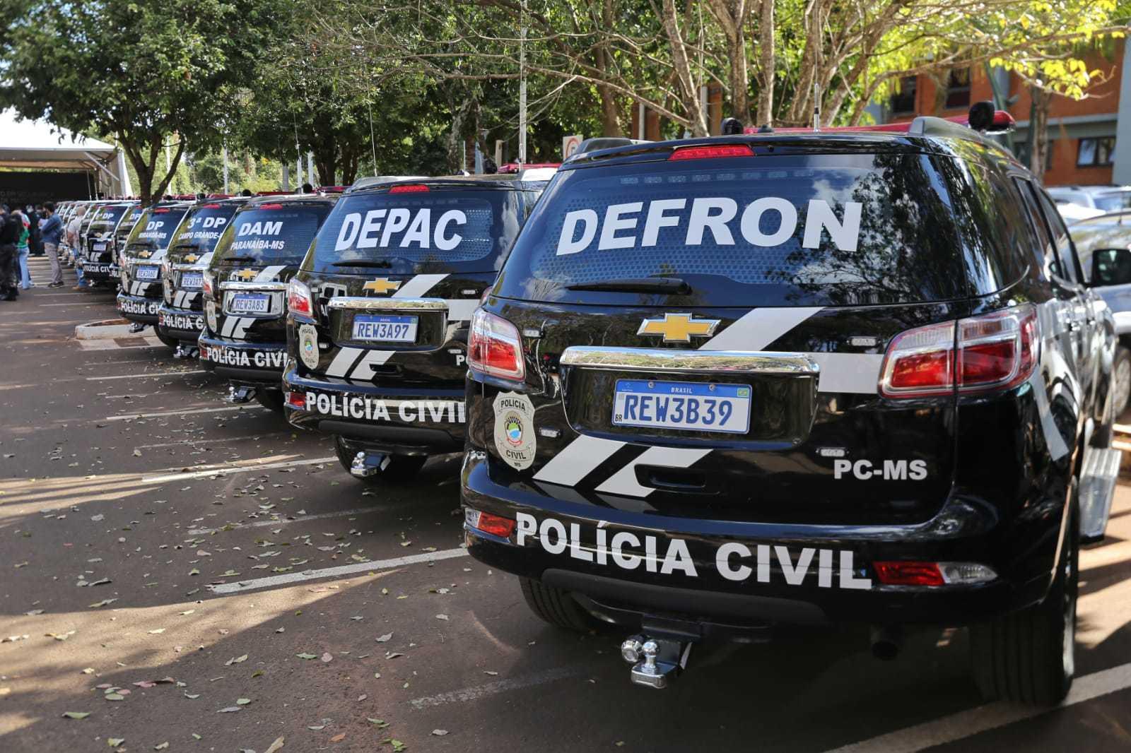 Viaturas vão reforçar policiamento e trabalho de investigação tantop no interior como na Capital (Foto: Paulo Francis)