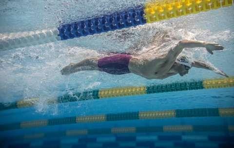 Nadador de MS disputa medalha nos 200 m borboleta nesta noite