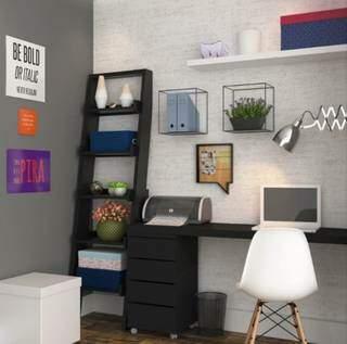 No setor de decoração, papel de parede TNT Cânhamo Inspire também entra em oferta. (Foto: Reprodução Site Leroy Merlin)