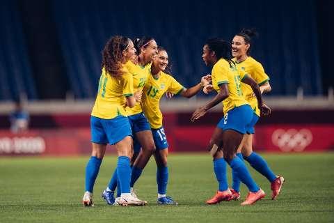 Brasil derrota Zâmbia e vai reencontrar Canadá no futebol feminino