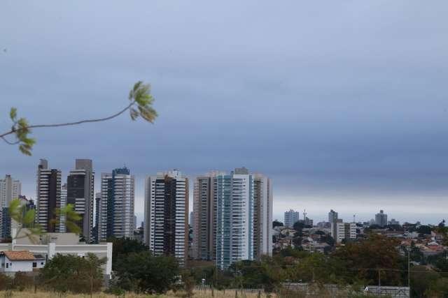 MS está sob alerta de rajadas de vento de até 60 km por hora