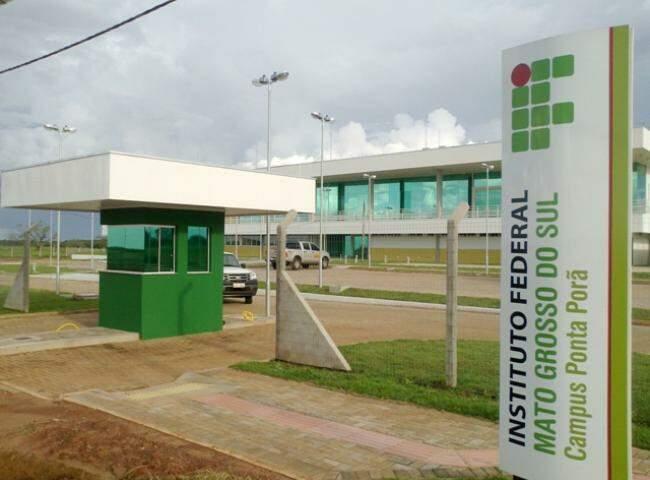 No campus de Ponta Porã são 11 bolsas disponíveis (Foto: Arquivo)