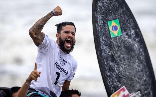 Italo Ferreira conquista 1º ouro do Brasil nos Jogos Olímpicos de Tóquio