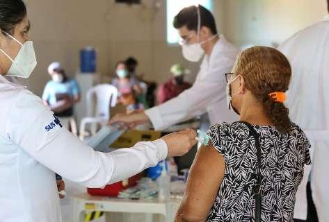 Aplicação da 2ª dose contra covid continua em 24 postos de Campo Grande