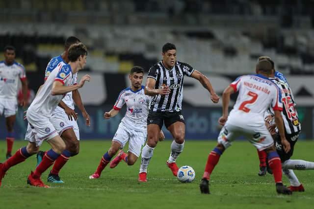 Atlético-MG vence o Bahia por 2 a 0 no Mineirão