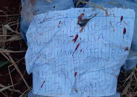 """Adolescente é executado e tem pele arrancada por """"justiceiros da fronteira"""""""
