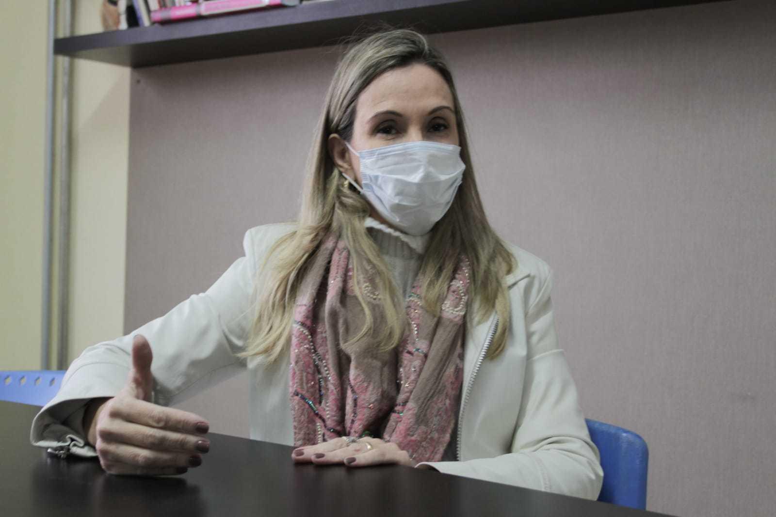 Advogada Rachel Magrini, pré-candidata à presidência da OAB-MS (Ordem dos Advogados do Brasil) (Foto: Marcos Maluf)