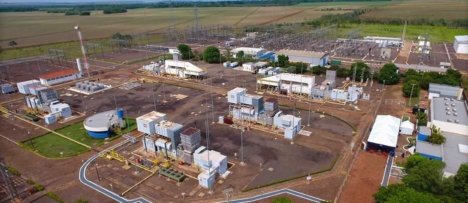 Usina termelétrica William Arjona, reativada para garantia de suprimento energético ao longo de 2021 (Foto/Divulgação)