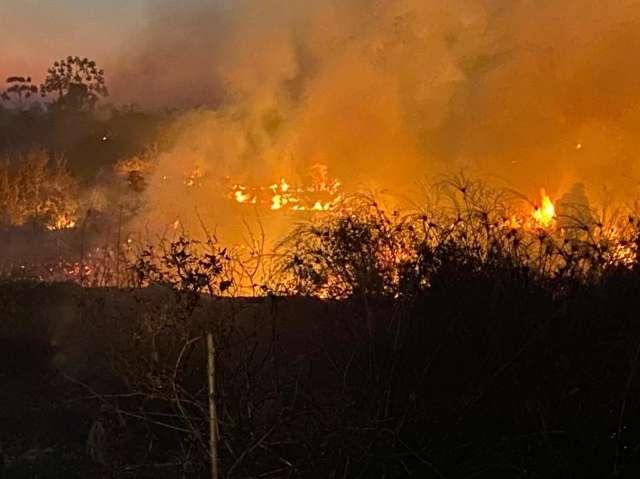 Com falta de chuva, MS aposta em ações preventivas contra incêndios