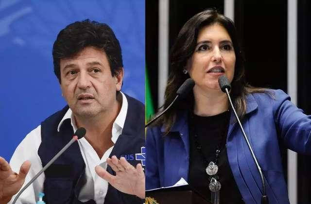Com Lula e Bolsonaro empatados, Mandetta e Simone são lembrados por 1%