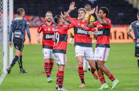 Flamengo vence o ABC com goleada de 6 a 0 no Maracanã