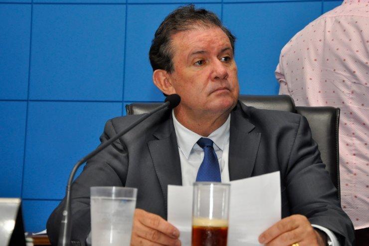 Eduardo Rocha é o parlamentar que apresentou maior quantia de gastos com consultoria (Foto: Luciana Nassar/Divulgação/Alems)