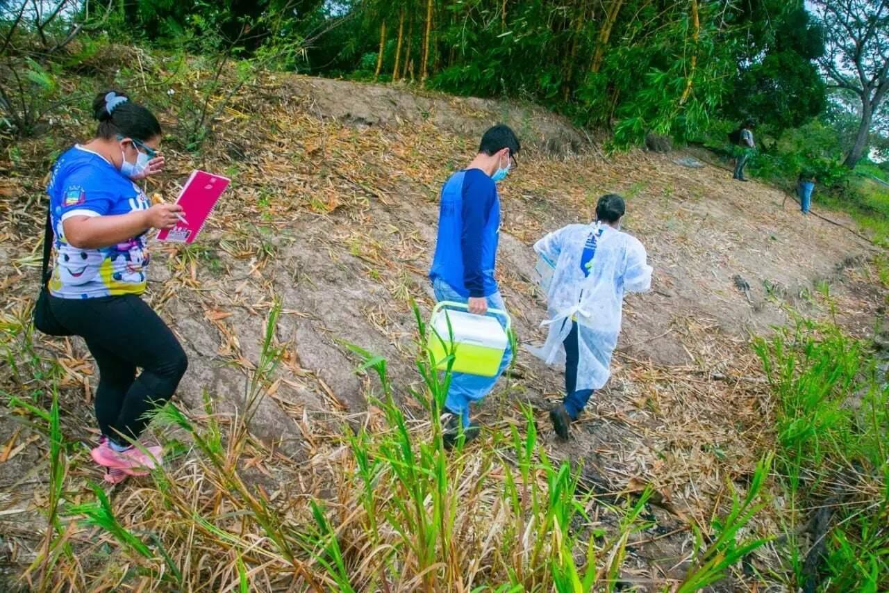 Equipes de saúde pública fizeram busca ativa nos municípios de fronteira para vacinar todo mundo (Foto: Arquivo)