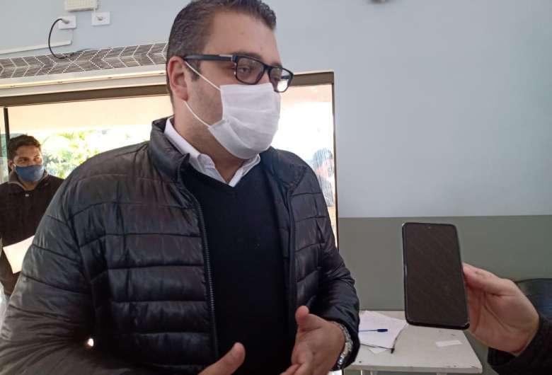 Prefeito de Dourados, Alan Guedes (PP). (Foto: Wender Carbonari/Dourados News)