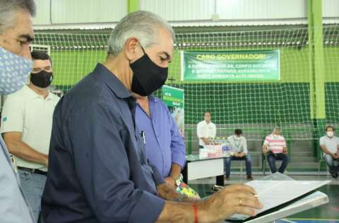 Reinaldo vai ao interior conhecer projeto de usina de R$ 1 bilhão