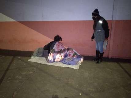 Noite teve 42 ligações para serviço de acolhimento a pessoas em situação de rua