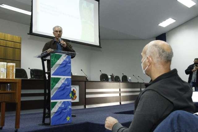 Reinaldo destaca valorização do milho com instalação de indústria em Maracaju