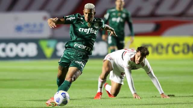 São Paulo e Palmeiras não saem do 0 a 0 no Morumbi