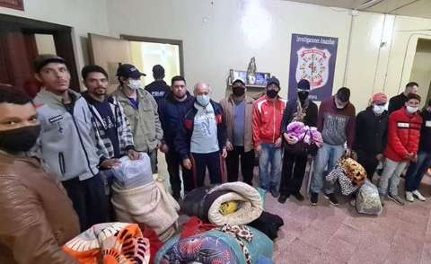 Paraguai faz transferência em massa de presos em cadeia da fronteira