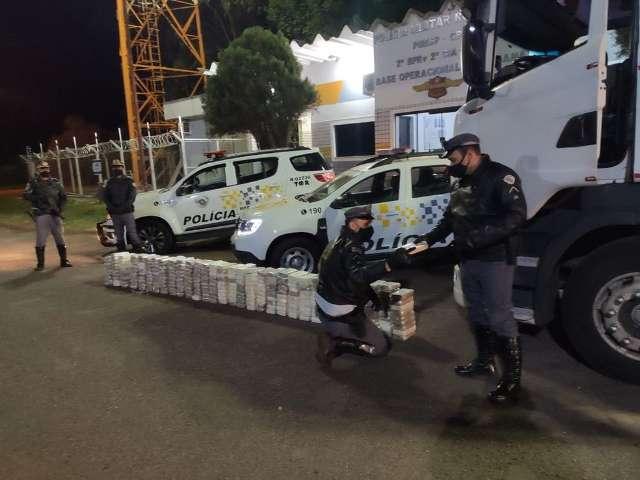 Carga de cocaína avaliada em R$ 12 milhões sai de MS, mas é apreendida em SP