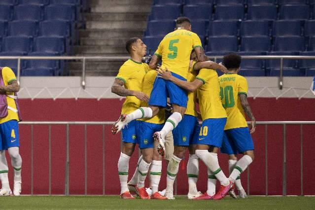 Brasil vence Egito e avança para semifinais dos Jogos Olímpicos de Tóquio