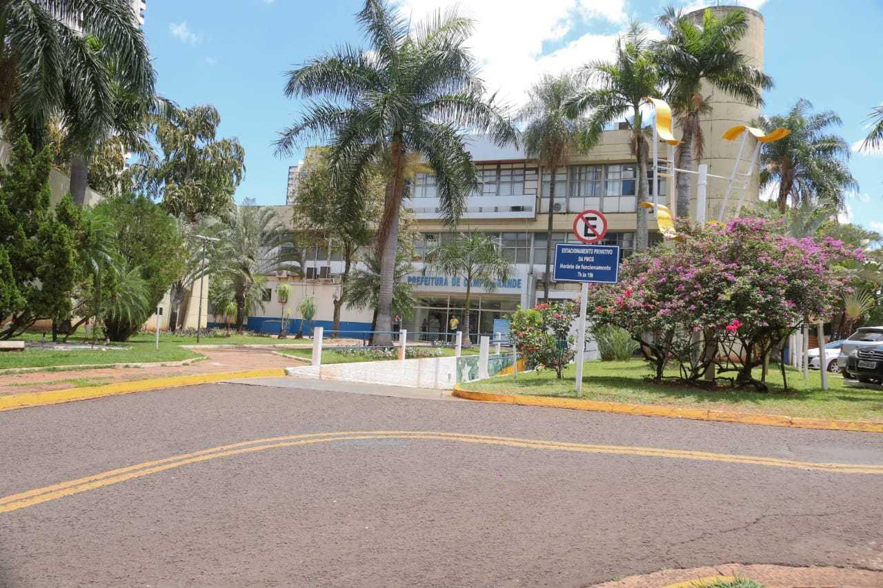 """Prefeitura de Campo Grande também entra no """"novo normal"""" na segunda-feira. (Foto: Marcos Maluf)"""