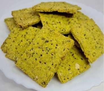 Para quem adora cream cracker, versão com grão-de-bico é nutritiva