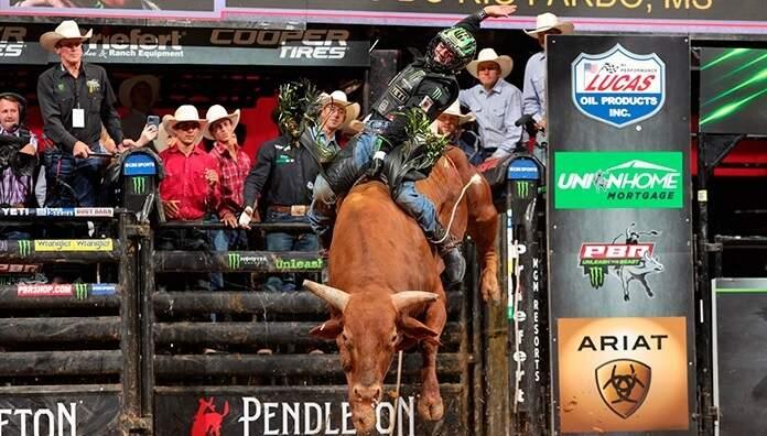 Etapa do campeonato foi realizada nos Estados Unidos. (Foto: Divulgação/PBR Bull