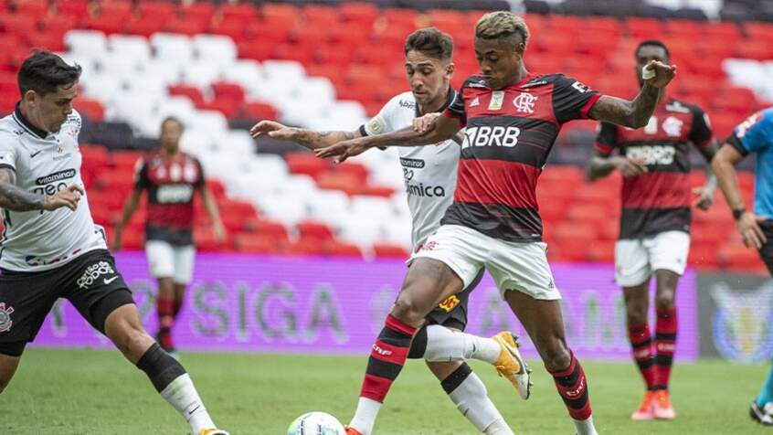 Corinthians recebe o Flamengo na partida destaque da rodada (Foto: Alexandre Vidal / Flamengo)