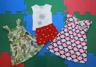 Aproveite os descontos especiais e a nova coleção para renovar o guarda-roupa da meninada. (Foto: Kísie Ainoã)