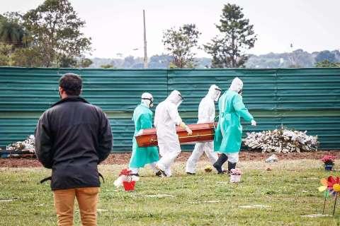 Covid-19: Brasil registra 557,2 mil mortes e 19,95 milhões de casos