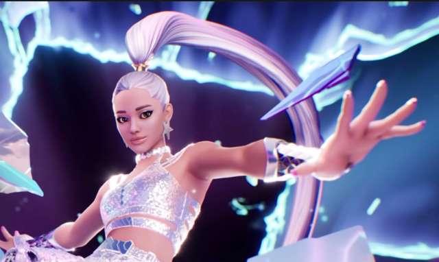 Cantora Ariana Grande fará um show gigantesco em Fortnite
