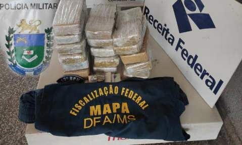 Com cocaína, boliviana é presa entrando de táxi em Corumbá
