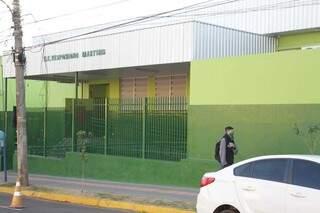 Escolas estaduais retornaram com atividades presenciais nesta segunda-feira (Foto: Marcos Maluf)