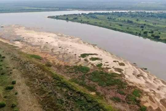 Com navegação em risco, Estado pedirá dragagem do Rio Paraguai